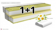 Matrace - Camomille Comfort 1+1 akce