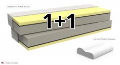 Matrace Horse elastic 1+1 zdarma